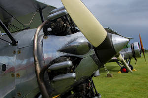 Hawker Tomtit and Avro Tutor by Daniel-Wales-Images