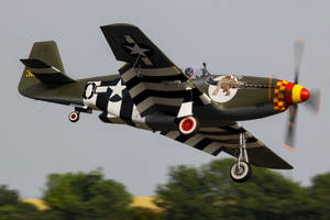 North American P-51B Mustang by Daniel-Wales-Images