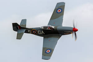 North American P-51D Mustang by Daniel-Wales-Images
