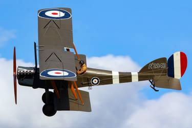 Royal Aircraft Factory B.E.2e (Reproduction) by Daniel-Wales-Images