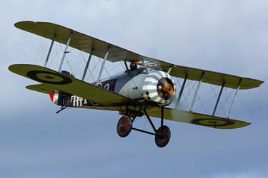 Sopwith 7F.1 Snipe (Reproduction) by Daniel-Wales-Images