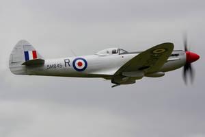 Supermarine Spitfire FR.XVIIIe by Daniel-Wales-Images