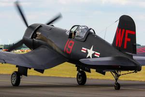 Chance Vought F4U-5N Corsair by Daniel-Wales-Images