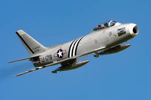 North American F-86A Sabre by Daniel-Wales-Images