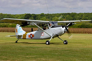Cessna O-1E Bird Dog by Daniel-Wales-Images