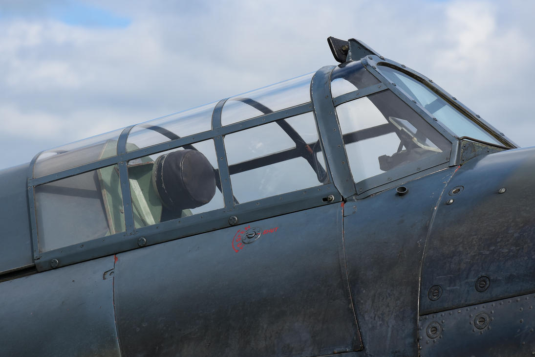 Sea Hurricane Canopy by Daniel-Wales-Images