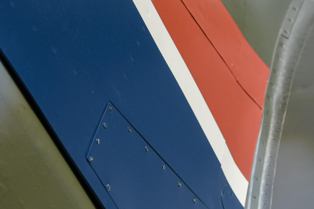 Spitfire LF.Vc Tail Flash Detail by Daniel-Wales-Images