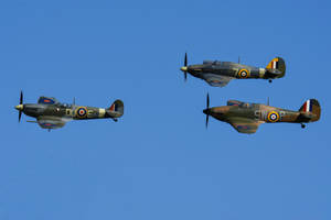 Spitfire and Hurricanes by Daniel-Wales-Images