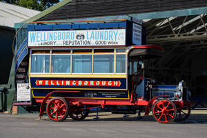 1913 Wellingborough Omnibus Company Leyland S3 by Daniel-Wales-Images