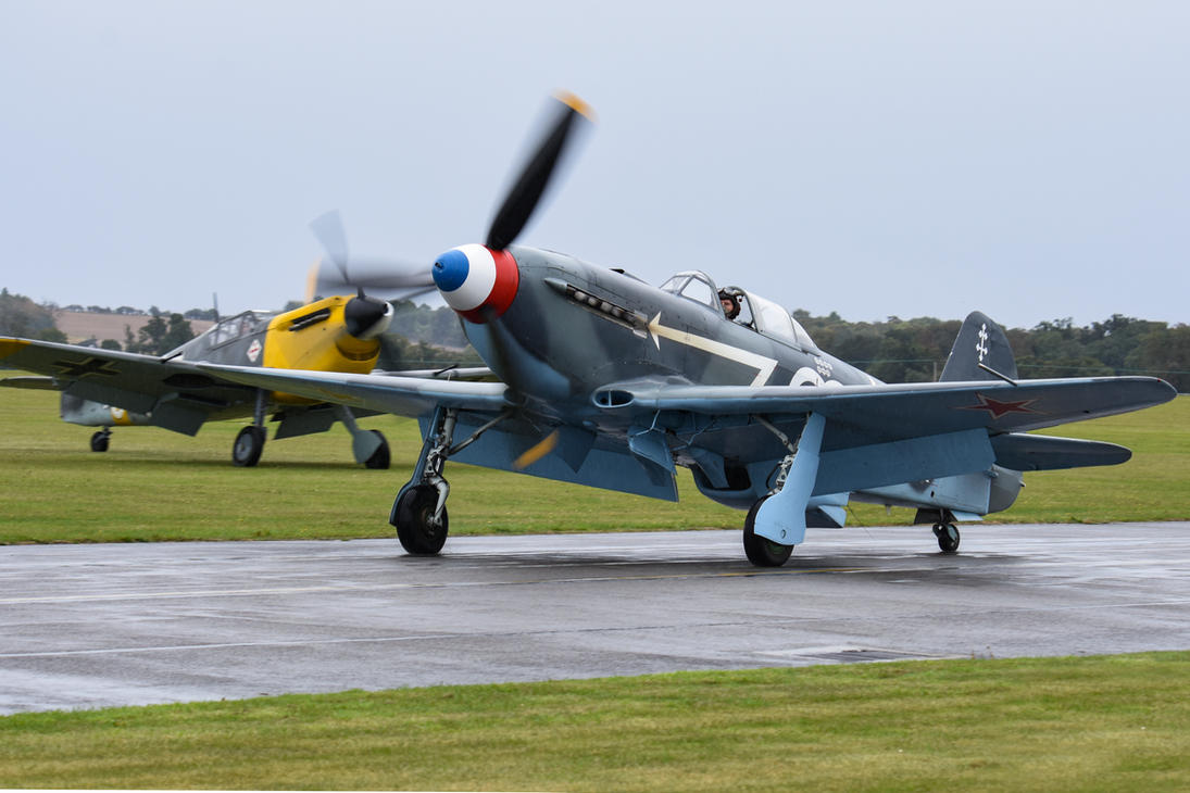 Yak-3 and Buchon by Daniel-Wales-Images