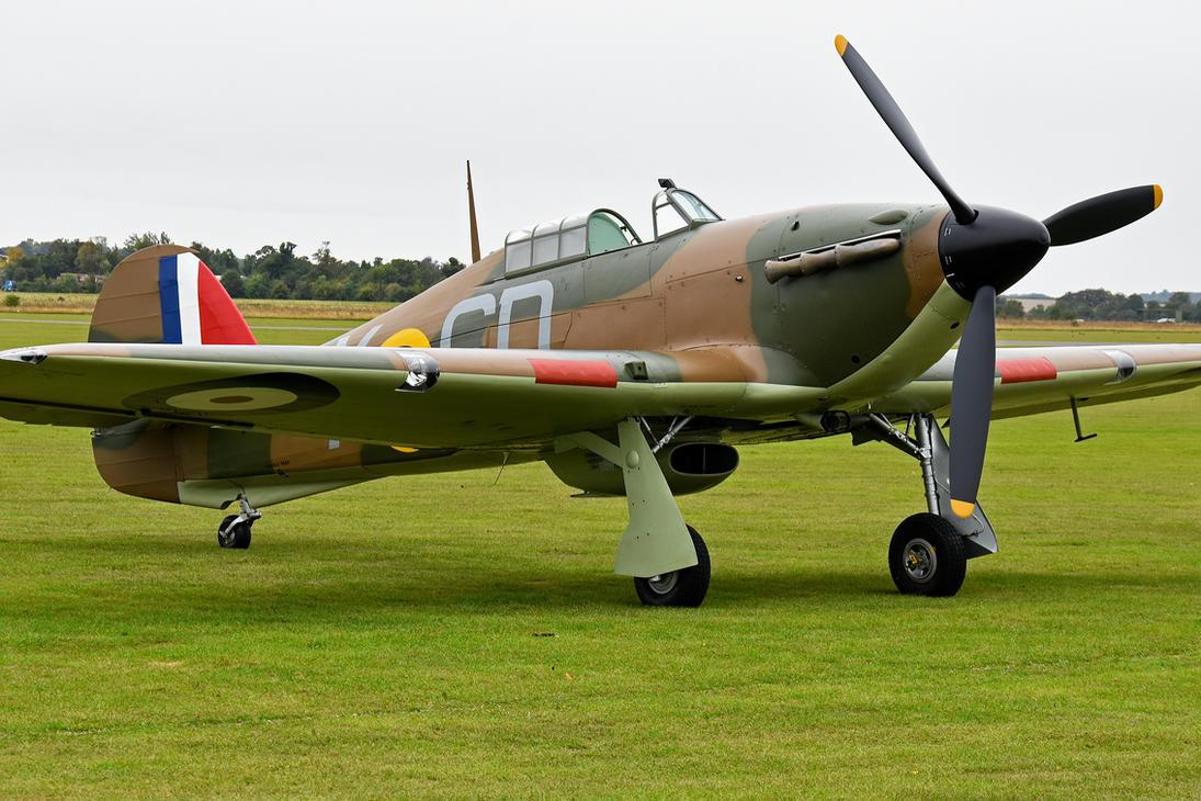 Hawker Hurricane Mk.I by Daniel-Wales-Images