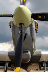 Supermarine Spitfire Tr.9 by Daniel-Wales-Images