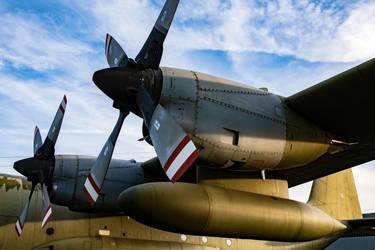 Lockheed C-130H Hercules by Daniel-Wales-Images