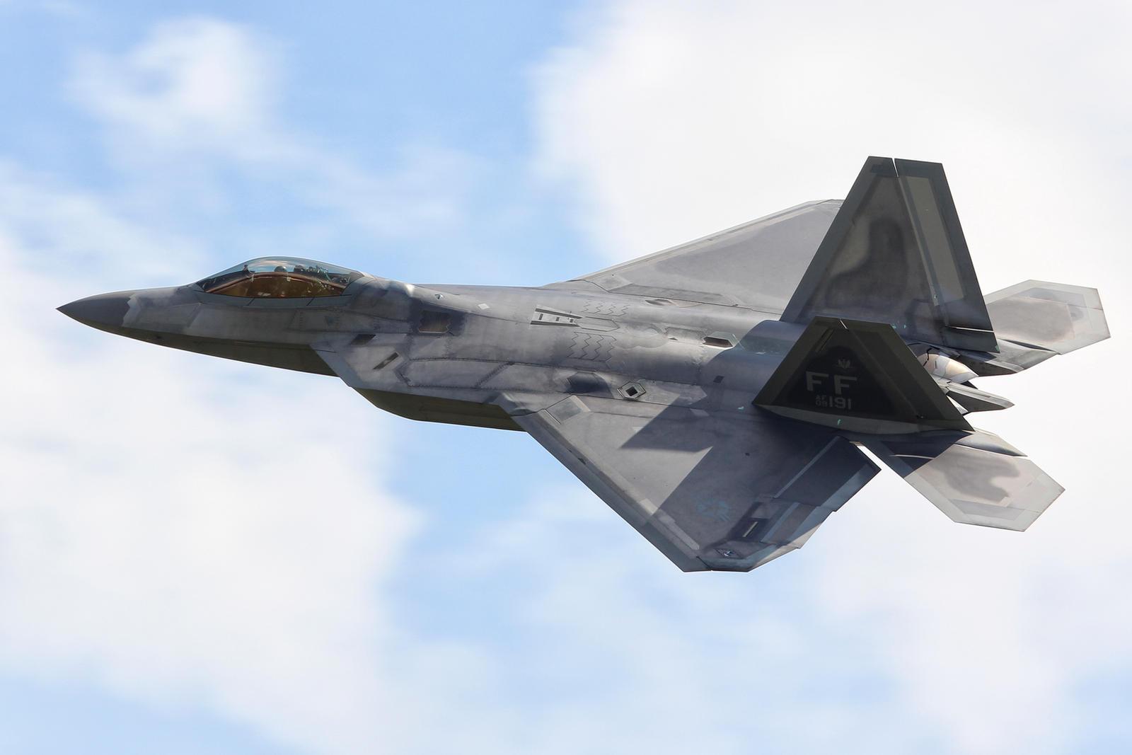 Lockheed Martin F-22A Raptor by Daniel-Wales-Images