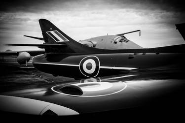 Hawker Hunter by Daniel-Wales-Images