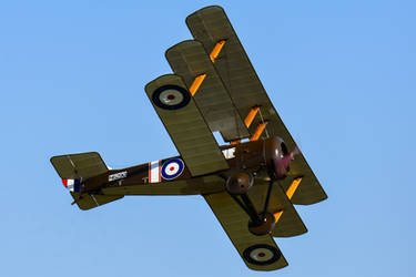 Sopwith Triplane by Daniel-Wales-Images