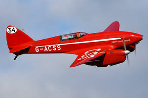 de Havilland DH.88 Comet by Daniel-Wales-Images