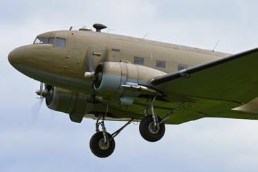 Douglas C-47A Dakota by Daniel-Wales-Images