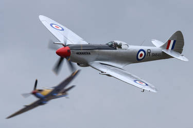 Flying Legends Spitfires by Daniel-Wales-Images