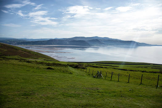 A view from the Great Orme.