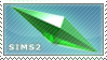 Sims 2 Stamp by noblead