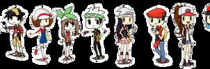 Pokemon Trainers - Set 1