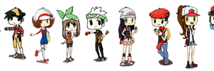 Pokemon Trainers - Set 1