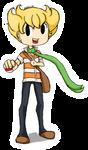 Pokemon Trainer - Rival Barry/Jun/Pearl