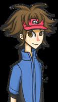 Pokemon B/W 2 Doodle - Pokemon Trainer Kyouhei