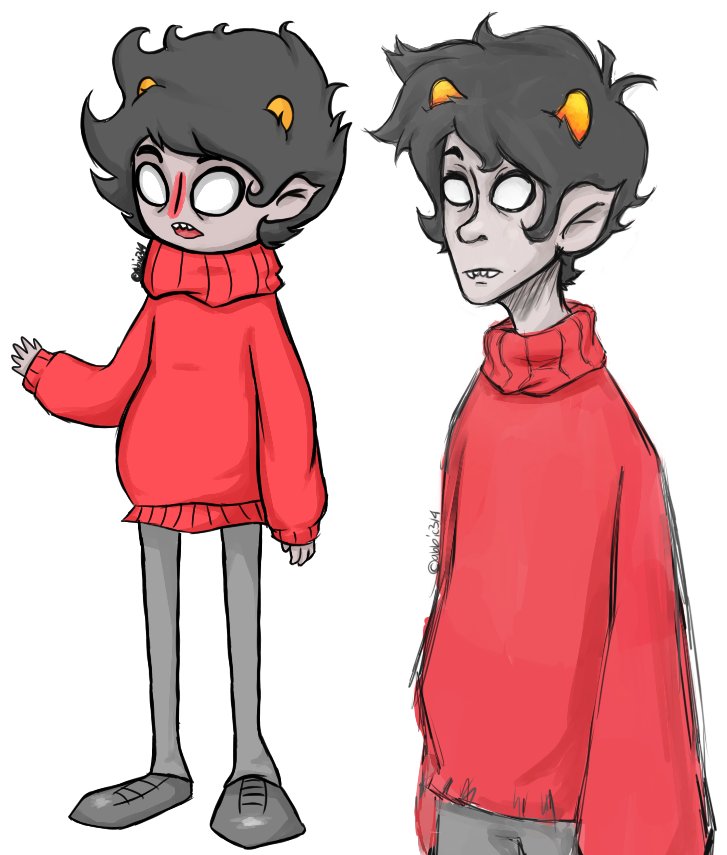 how to draw homestuck characters