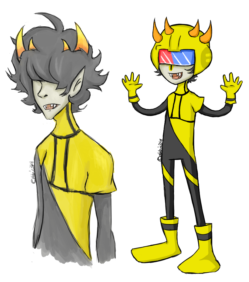 Homestuck Sollux And Mituna Homestuck Doodles - Mi...