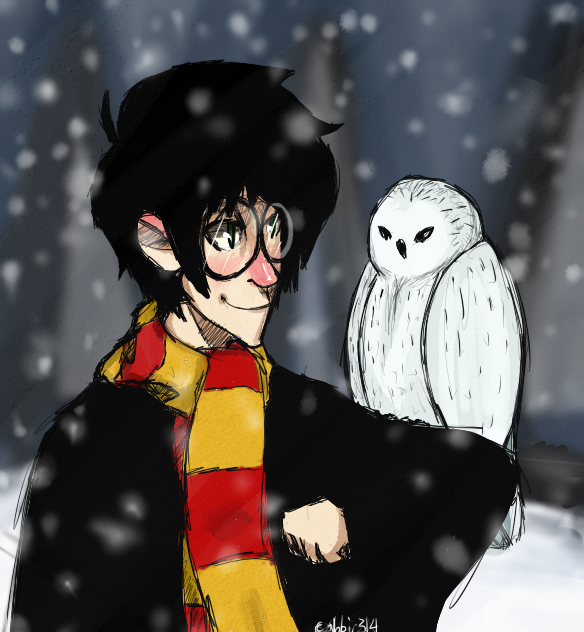 Harry And Hedwig by abbic314