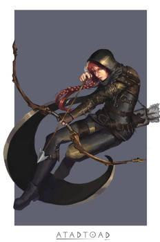 Half elf Rogue\Ranger
