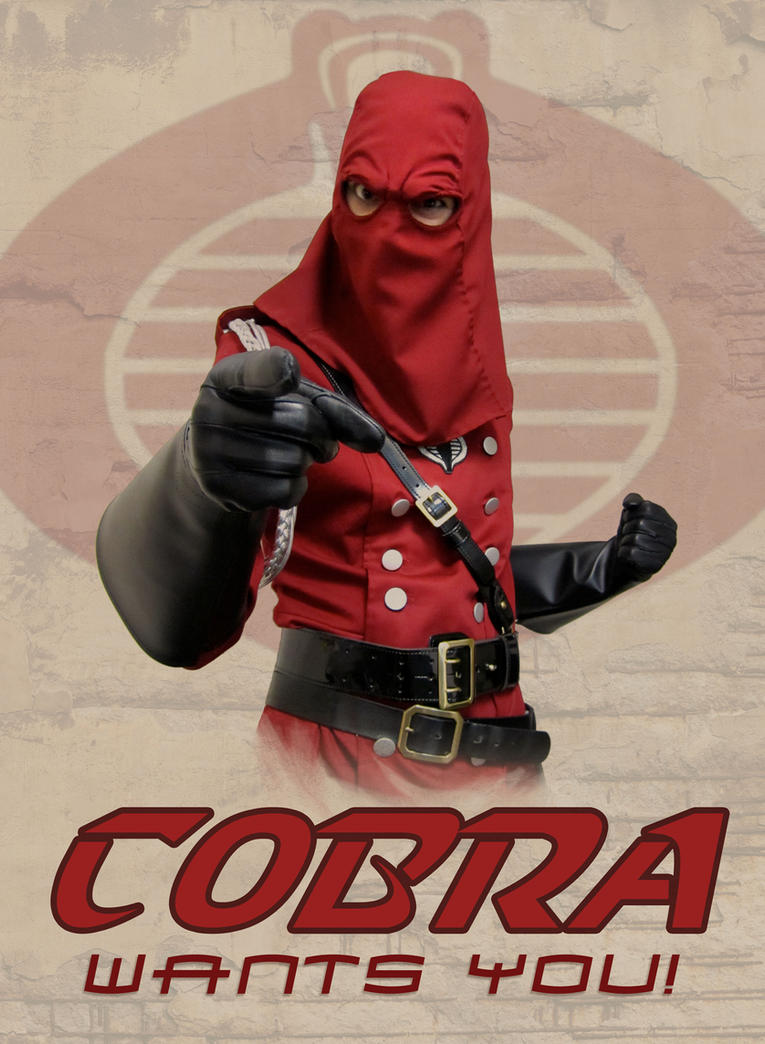 Cobra Wants You by HeroesByHand