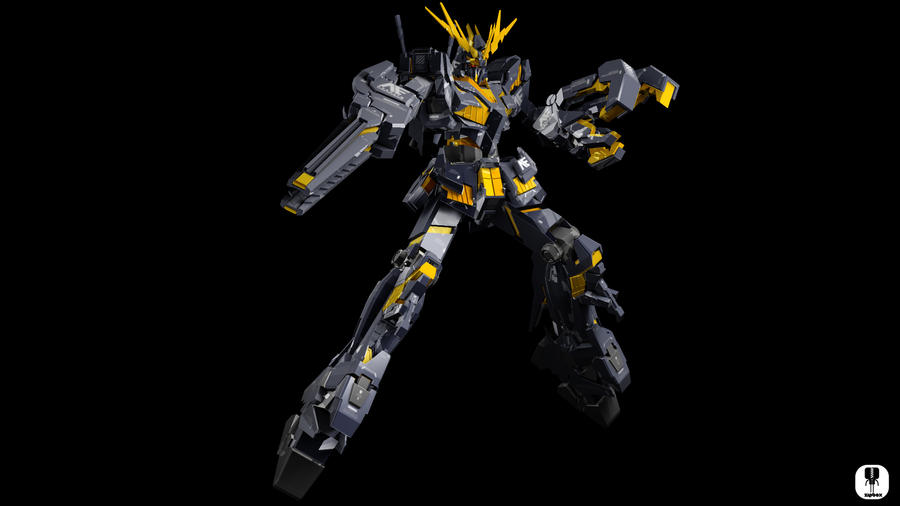 RX-0 Unicorn Gundam Banshee by zipbox on DeviantArt