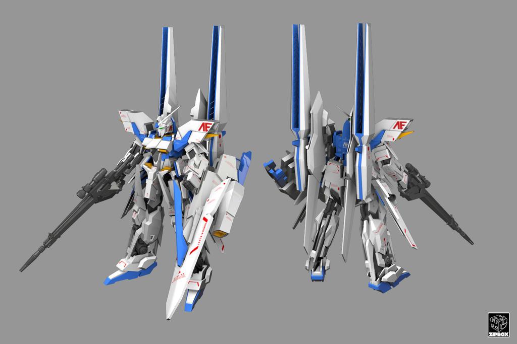 MSN-001X Gundam Delta Kai By Zipbox On DeviantArt