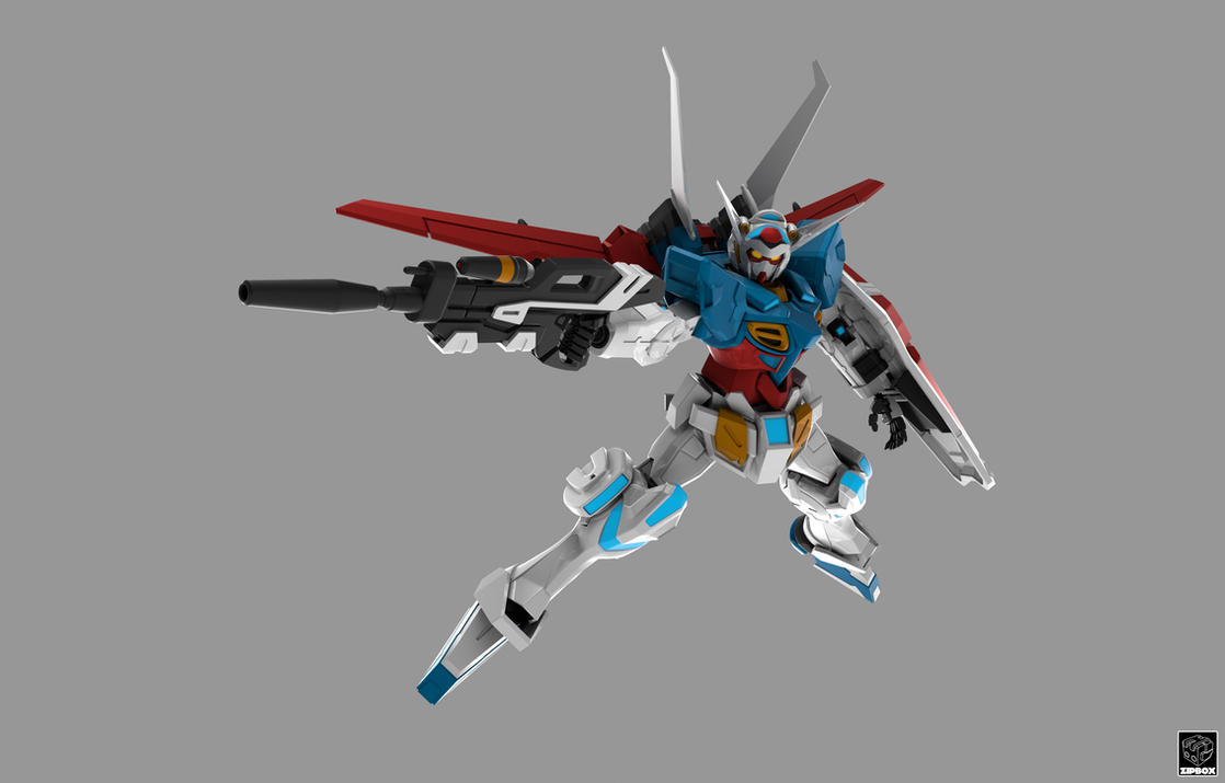 YG-111 Gundam G-Self by zipbox