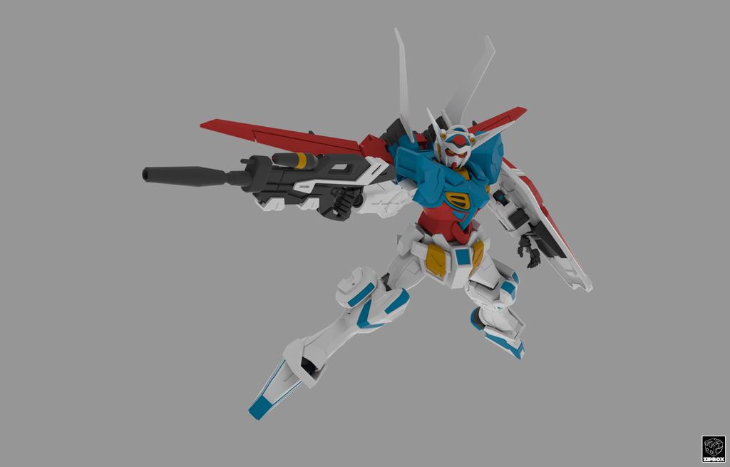 YG-111 Gundam G-Self matte version by zipbox
