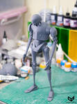 K-2SO 1/6 Scale 3Dprinted