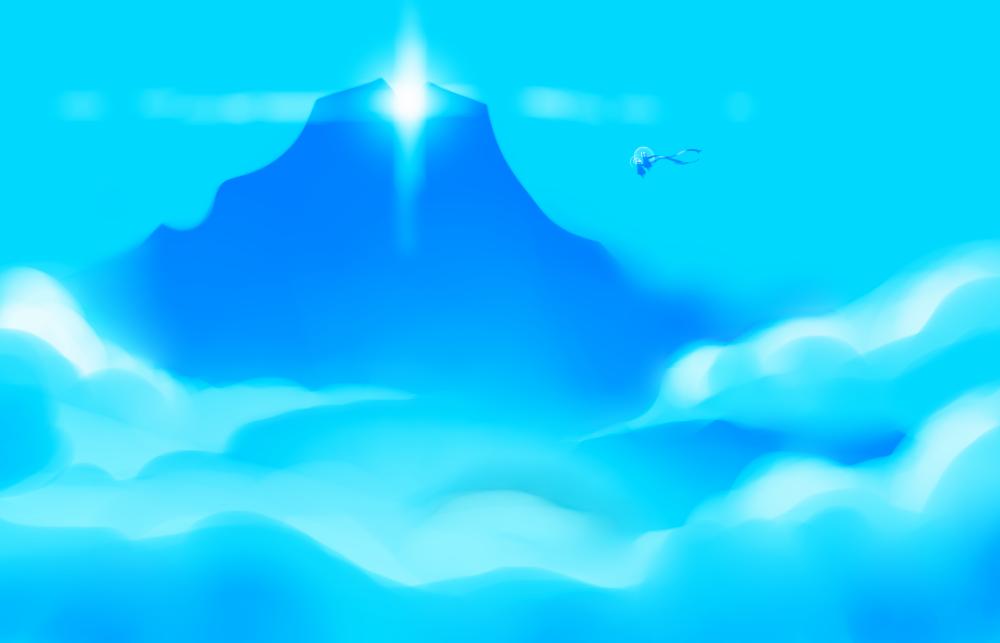 Reaching the Peak by PlayerZed