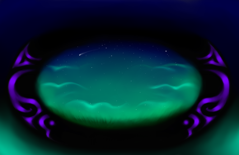Starry Field Of Vision by PlayerZed