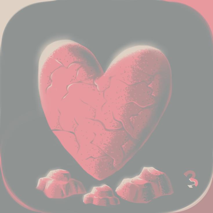 Day 3 Stone Love by PlayerZed