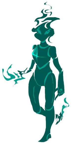 Strange turquoise thingy by PlayerZed