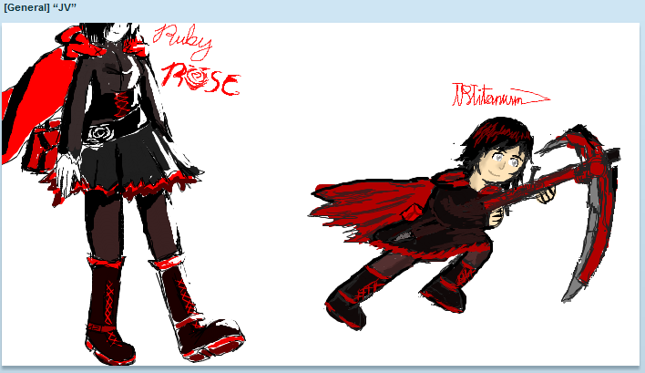 Ruby rose by PlayerZed