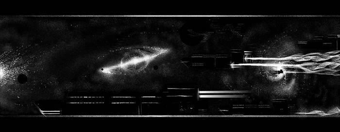 Heavypaint spacescape