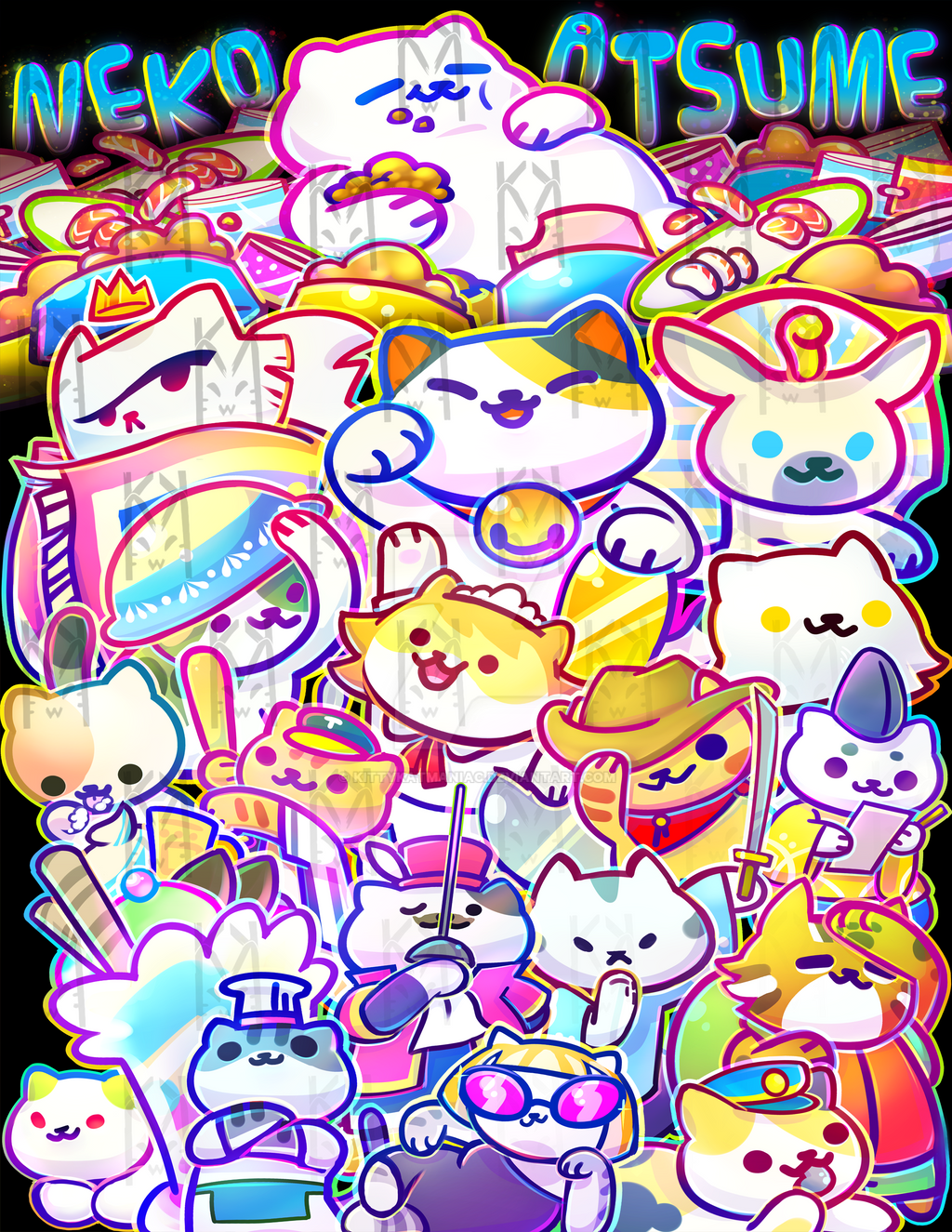 Neko Atsume By Kittykatmaniac On Deviantart