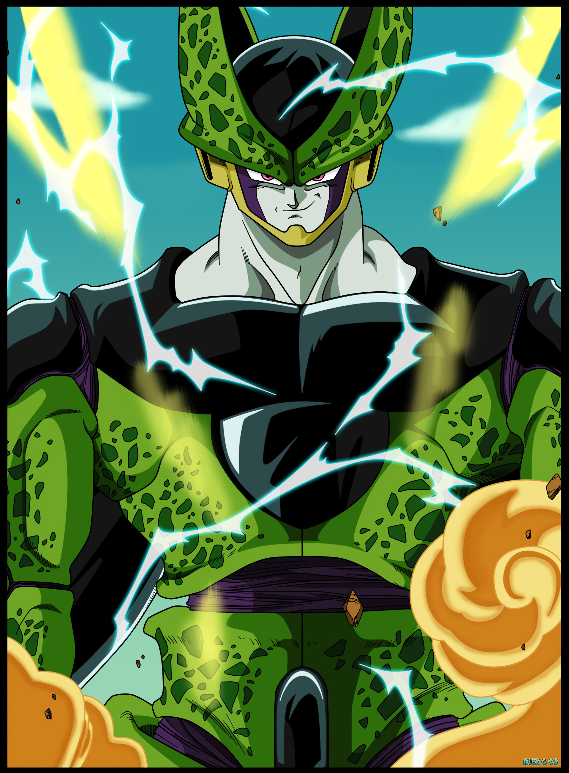 Cell Perfect Cell By Maffo1989 On Deviantart Dragon Viewletterco