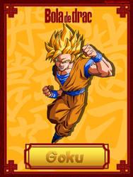 Goku Ssj 2 by ProjectsAlex
