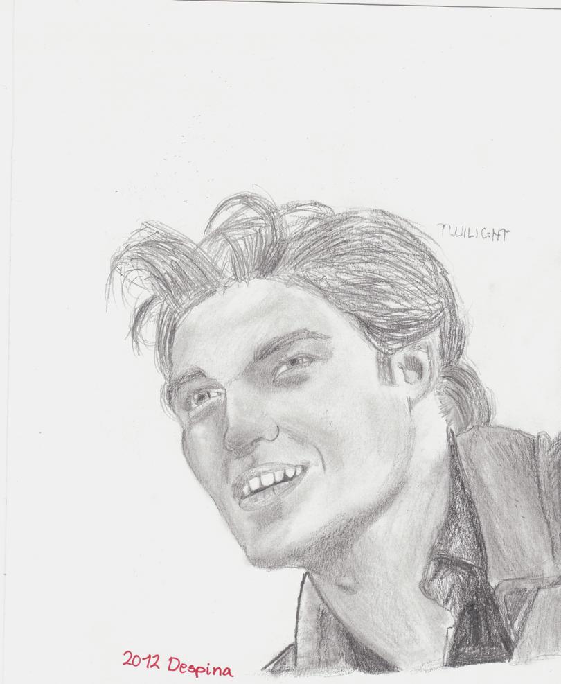 Edward Cullen Drawing By Blablaazaxoni On Deviantart