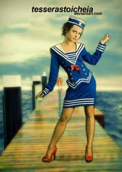 Sailor Girl by tesserastoicheia
